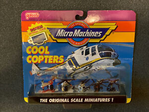 Micro Machines, Helicopters Collection #1, 6400, Unopened, Galoob 1990
