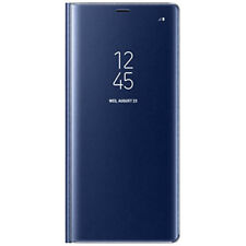 NEW GENUINE SAMSUNG CLEAR VIEW COVER CASE FOR GALAXY NOTE 8 DEEP BLUE