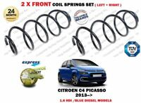 FOR CITROEN C4 PICASSO 1.6 HDI / BLUEHDI 2013 > NEW 2 X FRONT COIL SPRINGS SET