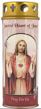 SACRED HEART OF JESUS DEVOTIONAL HOLY CANDLE 100's OF STATUES + PICTURES LISTED