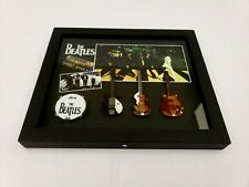 BEATLES Abbey Road Commemorative Guitar Shadow Box. John Lennon.