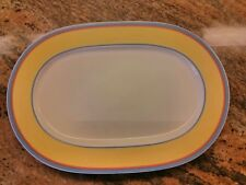"Villeroy & Boch ~ Twist Anna~ 13"" Oval Serving Platter Multiples"