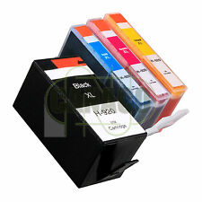4 PACK 920XL HIGH YIELD 920 920XL Ink Cartridge for HP Printer WITH NEW CHIP