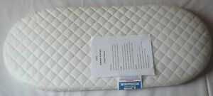 NEW DELUXE SAFETY MATTRESS FOR ICANDY PEACH CARRYCOT /QUILTED MATTRESS