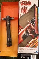 Star Wars Kylo Ren Spring Action Lightsaber Disney Store Boxed