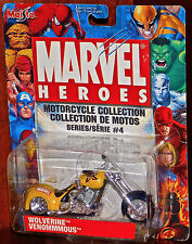 Marvel Heroes Wolverine Venommmous Motorcycle Collection SEALED NEW ON CARD TOY