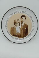 Hornsea Pottery Charles & Diana Royal Wedding Trinket Dish Brown Sepia British