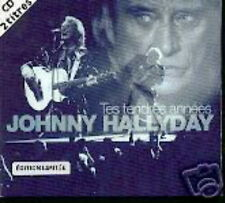 JOHNNY HALLYDAY CD SINGLE EDITION LIMITEE TES TENDRES A