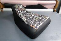 Honda Rubicon Foreman 500 2001-04 Camo Black Seat Cover #hcs104c97