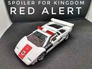 Spoiler for Kingdom Red Alert Transformers JRC DESIGN UPGRADE KIT