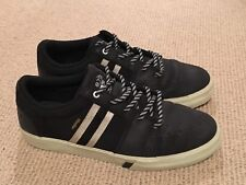 Huf Pepper Pro Waxed Canvas Black/off White US11