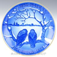 Bing & Grondahl THE CROWS Commemorative Christmas Plate Denmark Hand Painted