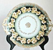 Antique R.C. Rosenthal Porcelain IRIS Bavaria Hand Painted Tray Plate