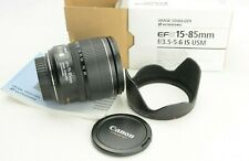Canon EF-S 15-85 mm F/3.5-5.6 IS USM, OVP (box) GUT