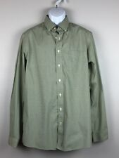 EDDIE BAUER Men's Shirt Button Down LS Wrinkle Resistant Relaxed Fit Size LT