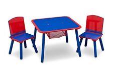 ️ Delta Children - Set tavolo e Sedia da Bambina Blu/rosso