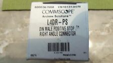 COMMSCOPE L4DR-PS DIN MALE RIGHT ANGLE CONNECTOR