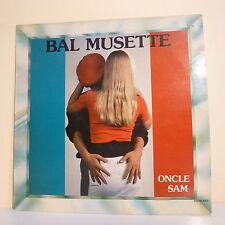 """33T BAL MUSETTE Disque LP 12"""" ONCLE SAM Drapeau France SYSTEM DISCO 502"""