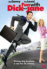 ~ FUN WITH DICK AND JANE ~ DVD 2006 COMEDY JIM CARREY TEA LEONI Brand NewSealed
