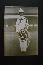 Military Photo Print Sole Drummer with Drum