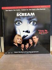 Scream Laserdisc Exclusive Widescreen Director's Cut
