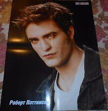 Robert Pattinson The Twilight Saga - Magazine Poster (A2)