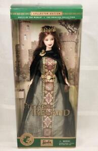 PRINCESS OF IRELAND Barbie DOLLS OF THE WORLD DOTW NRFB #53367 2001