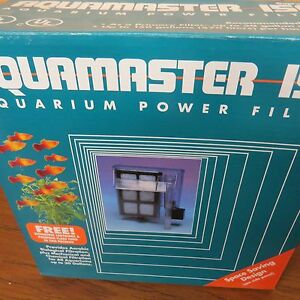 Aquamaster Aquarium Power Filter - 150 - Good for Tanks up to 30 gallon Supreme