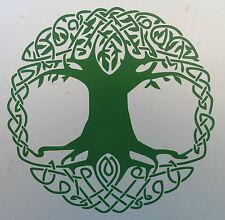 Celtic Tree Of LIfe gods myths Magic stickers/car/van/bumper/window/decal 5208GN