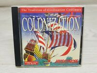 Sid Meier's Colonization PC Game Windows 3.1 95 DOS Create A New Nation