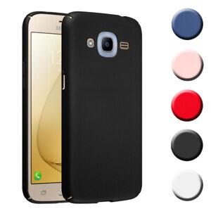Hard Cover for Samsung Galaxy J2 2016 Shock Proof Case Metallic Mat Rigid TPU