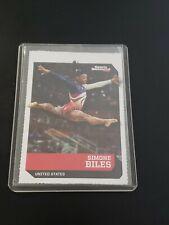 2018 Sifk Simone Biles Usa Gymnastics Card Gold Medal