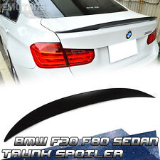 SHIP FROM LA Unpainted BMW F30 F80 M3 4D P Look High Kick Trunk Spoiler 2017