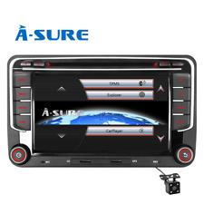 "7"" Car stereo GPS Sat nav BT RDS For VW Golf Sharan Touran Seat Leon Skoda Fabia"