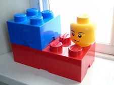 Lego Storage Box Set Brick and Head boxes