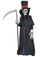 Kids and Teen Grim Reaper Dapper Death Costume