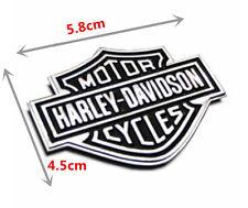 Harley Davidson Chrome Motorcycle Body Tank Emblem Badge Logo 3D Metal Sticker
