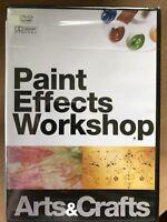 Paint Effects Workshop ~ Interior Decorating Documentary UK DVD BNIB