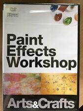 Pintura Efectos TALLER ~ Interior Decoración Documental GB DVD Nuevo en caja
