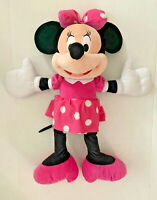 "Minnie Mouse Disney Jumbo 24"" Plush Very good pre-owned condition"