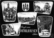 AK, Mühlhausen Thür., fünf Abb., gestaltet, 1960