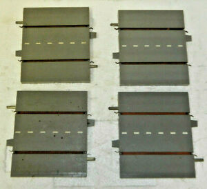 """4 x Triang Minic OO Scale Roadway 3"""" Straights"""