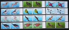 2 x Samoa 2013 Mi. 1105-1116 ** MNH Freimarken Vögel Birds Michel 94,-- €