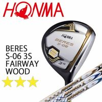 3-STAR HONMA GOLF JAPAN BERES S-06 FAIRWAY WOOD ARMRQ X SHAFT 2018 MODEL 091802