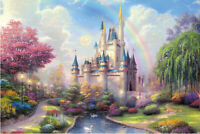 New Colorful Castle Educational 1000 Piece Jigsaw Puzzles Adults Kids Puzzle Toy