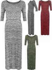 Vestiti da donna maniche a 3/4 multicolori casual