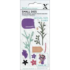 Xcut Small Dies Flower Jar 11 Pieces