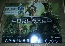 Huge Enslaved Odyssey To The West Poster (L 3ft  x H 26in)
