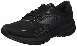 Brooks Men's Ghost 13, Black/Black, Size 10.5 hL8K
