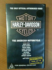 THE ONLY OFFICIAL AUTHORISED VIDEO HARLEY-DAVIDSON MOTORCYCLES ~ RARE VHS VIDEO